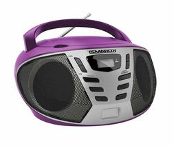 KORAMZI Sports Portable CD Boombox AM/FM Radio, AUX IN, Top