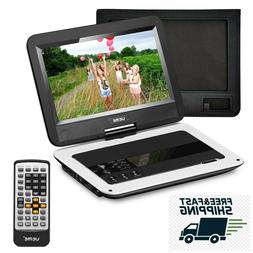 """Portable CD DVD Player Playback Audio Video 10.1"""" LCD Screen"""