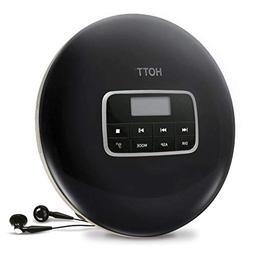 Portable CD Player ,HOTT Small Walkman CD Player with Earpho