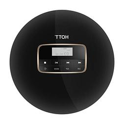 Portable CD Player, HOTT Shockproof Personal Compact Disc MP
