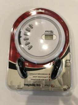 GPX  Portable CD Player & Headphones Model # CDP1805 New