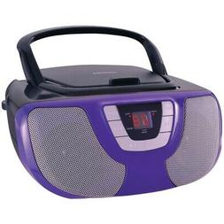 portable cd player boom