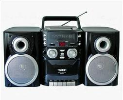 Naxa Portable CD Player Boombox with  AM/FM Stereo Radio & C