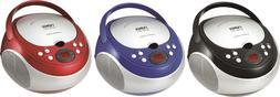 Naxa Portable CD Player with AM/FM Stereo Speaker Boombox Ra