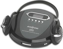 Insignia Portable CD Player with Skip Protection, CD-R, CD-R