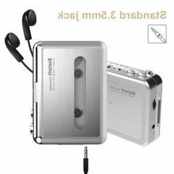 Portable Digital Bluetooth Cassette Tape to MP3 Player Conve