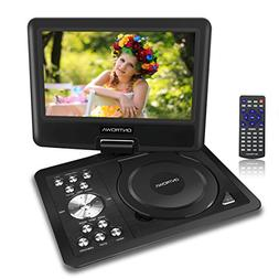 "Travel Portable DVD/CD Player with 11.5"" Swivel Screen,5 Hou"