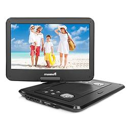 NAVISKAUTO 14 inch HD Portable DVD/CD Player USB/SD Reader w