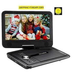 Xbocat Portable DVD Player 10.5'' Swivel Screen, USB + tf ca