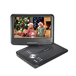 Xbocat 9.5 inch Portable DVD Player with Swivel Screen, Car