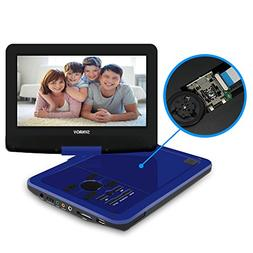 SYNAGY 10.1inch Portable DVD Player with Screen Portable CD