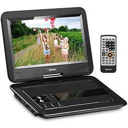 UEME Portable DVD CD Player with 10.1 Inch LCD Screen, Built