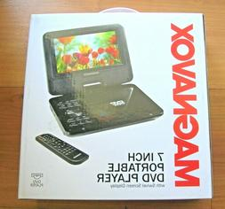 Magnavox MTFT716N-BK Portable 7 Inch TFT Swivel Screen DVD/C