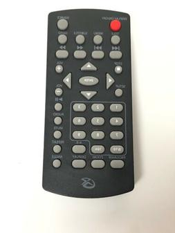 GPX Portable Dvd Player Remote - Genuine Original - W/ Volum