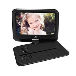 Senders 9.5 Inch Portable DVD Player with Swivel Screen,Mult