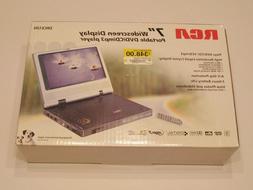 rca portable dvd / vcd / cd / mp3 player DRC612N New in box