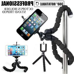 Portable Mini Flexible Tripod Octopus Stand For Iphone 6789