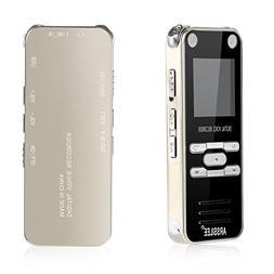 Digital Voice Recorder Pen, Pocket Audio Recorder 8GB Miniat
