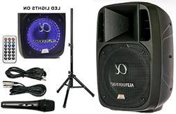 """Alphasonik 10"""" Powered 1600W PRO DJ Amplified Loud Speaker B"""