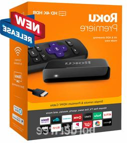 Roku - Premiere 4K Streaming Media Player - NEW RELEASE