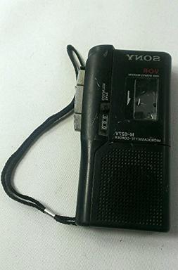 SONY Pressman M-627v MicroCassette Voice Recorder