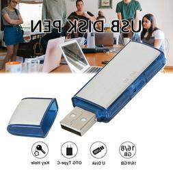 SPY Mini 8/16GB USB Disk Pen Drive Digital Audio Voice Recor