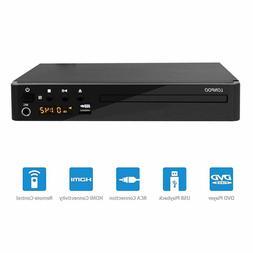 Progressive Scan Compact HDMI DVD Player, LONPOO Multi-Regio