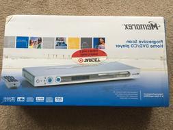 Memorex Progressive Scan DVD/CD Player MVD2042 New In SEALED