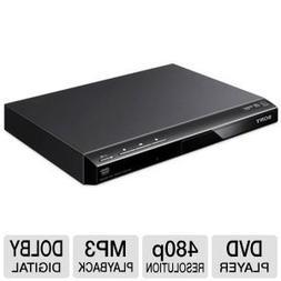 Sony Progressive Scan DVD Player With 480p Progressive Outpu