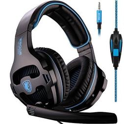 Sades SA810 PlayStation 4 Xbox One S Stereo Headset Over-Ear