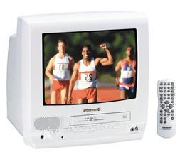 Panasonic PV-C1353W 13-Inch TV/VCR Combo, White