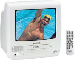 Panasonic PV-C1332W 13-Inch TV/VCR Combo , White
