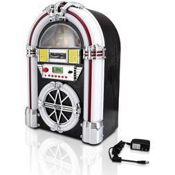 Pyle-Home Bluetooth Jukebox MP3 Speaker System, AM/FM Radio,