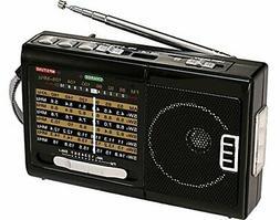 BRAND NEW QFX R-39 AM/FM/SW 10 Band Radio with Flashlight an