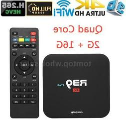 R39 Android7.1 Smart TV Box RK3229 2GB 16GB Quad Core 4K HD
