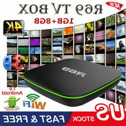 R69 Android 7.1 Smart TV Box 1GB+8GB Quad Core WIFI H.265 4K