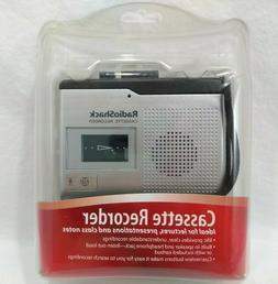 Radio Shack Handheld Cassette Tape Player / Recorder 14-110