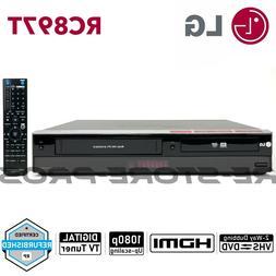LG RC897T DVD VCR Combo Player VHS to DVD Recording HDMI 108