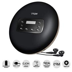 Rechargeable Portable CD Player, 2018 Latest Version HOTT Pe
