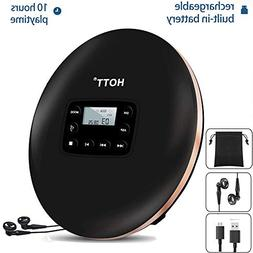 Rechargeable Portable CD Player,HONGYU Personal Disc Player