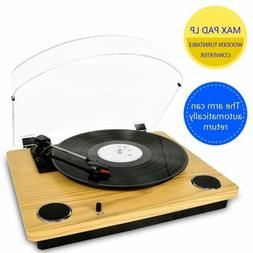 Record Player Max Pad Vinyl Turntable with Stereo Speakers C