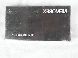 """""""MEMOREX"""" RECORD STYLUS CARE KIT IN BOX RECORD PLAYER CLEANI"""