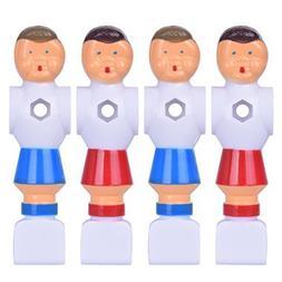 Hotusi 4Pcs Rod Foosball Soccer Table Football Men Player Re