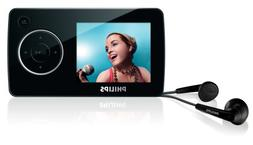 Philips SA32 4 GB Flash Video MP3 Player with FM Radio and 1