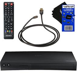 Samsung BD-J5100 Curved Disk Blu-ray Player with Remote Cont