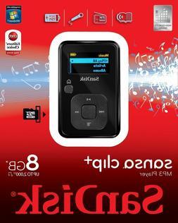SanDisk Sansa Clip Plus 8GB MP3 Player Recorder FM Radio
