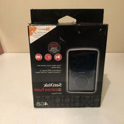 SanDisk Sansa Fuze 4GB Black MP3 and Video Player microSD BR