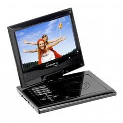 """Supersonic SC-179DVD 9"""" Portable DVD Player with Swivel Disp"""