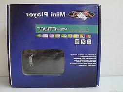 SD Card, USB HOST external Hard Drive Mini Media Player with