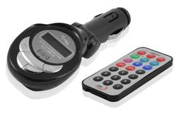 SD/MMC/USB/MP3 Wireless In Car FM Transmitter with Remote